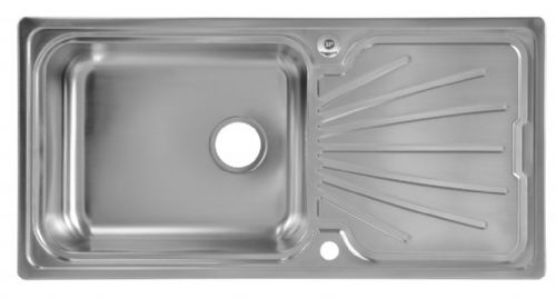 SupaPlumb Reversible Extra Deep Bowl Sink - 1 Tap